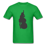 Lady with a Cello - Men's - bright green