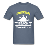 Summer Beach Vacation - Men's Tee - denim