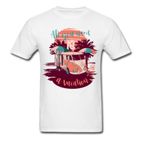 All You Need Is a Vacation - men's - white