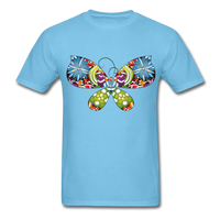 Patterned Butterfly - Men's - aquatic blue