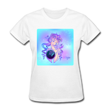 Virgo Lady on Blue - Women's - white