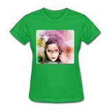 Beautiful Lady Butterfly2 - Women's - bright green