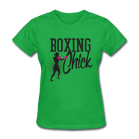 Boxing Chick - Women's - bright green
