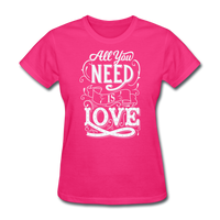 All You Need is Love - Women's - fuchsia