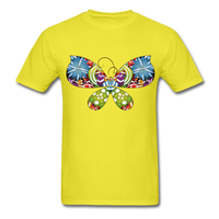 Patterned Butterfly - Men's - yellow