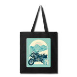 Motorcycle in the Mountains - Tote - black