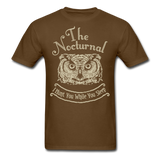 Nocturnal Owl - Unisex - brown