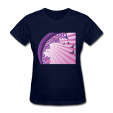 Sun Rays and Butterflies - Women's - navy