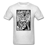 Robot Attack - Men's Tee - light heather grey