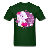 Beautiful Lady Poodle - Unisex - forest green