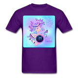 Taurus Lady on Blue - Unisex - purple