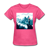 Lady in Pink Hiking - Women's - heather pink