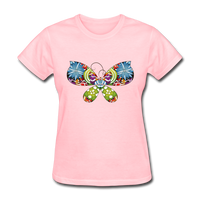 Patterned Butterfly - Women's - pink