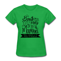 Beneath the Stars - Women's - bright green