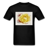 Yellow Rose - Unisex - black