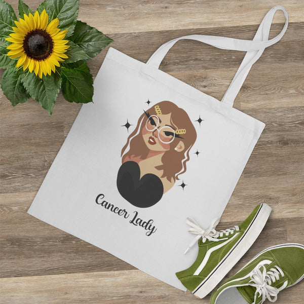 Cancer Lady - Large Tote