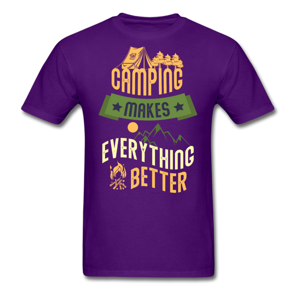 Camping Makes Everything - Unisex - purple