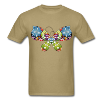 Patterned Butterfly - Men's - khaki