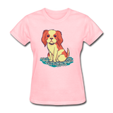 Happy Puppy - Women's - pink