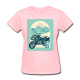 Motorcycle in the Mountains - Women's - pink