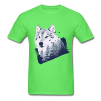 Wolf in the Forest - Men's - kiwi