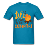 Life is Better Campfire - Men's - turquoise