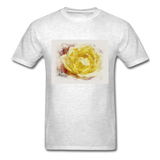 Yellow Rose - Unisex - light heather grey
