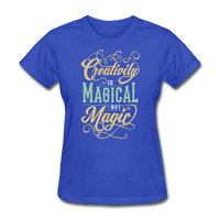 Creativity - royal blue
