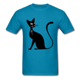 Lady Black Cat - Men's - turquoise
