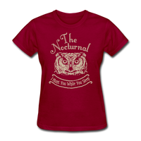 Nocturnal Owl - dark red
