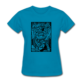 Robot Attack - Women's Tee - turquoise