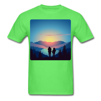 Backpackers at Sunset - Unisex - kiwi