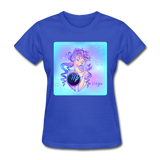 Virgo Lady on Blue - Women's - royal blue