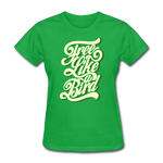 Free Like a Bird - Women's - bright green