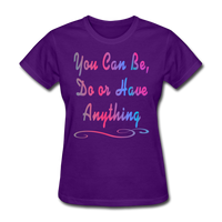 You Can Be - Women's - purple
