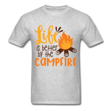Life is Better Campfire - Men's - heather gray