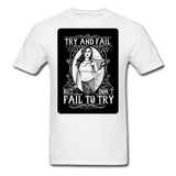 Try and Fail - Unisex - white