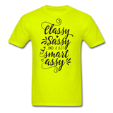 Classy Sassy - Men's - safety green