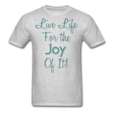 Life Life Joy - Unisex - heather gray