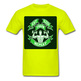 Eat Sleep Train Repeat - Unisex - safety green