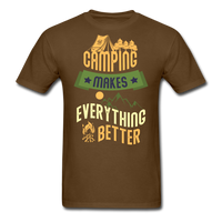 Camping Makes Everything - Unisex - brown