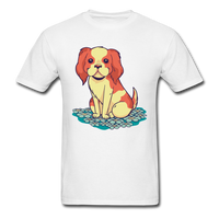Happy Puppy 2 - Unisex - white