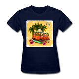 VW Bus Surfing - Women's - navy