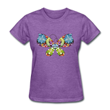 Patterned Butterfly - Women's - purple heather
