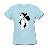 Black Tailed Cat - Women's - powder blue