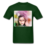 Beautiful Lady Butterfly - Unisex - forest green