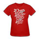 Dream As If -  Women's - red