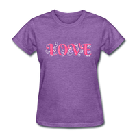 Love Design - Women's - purple heather
