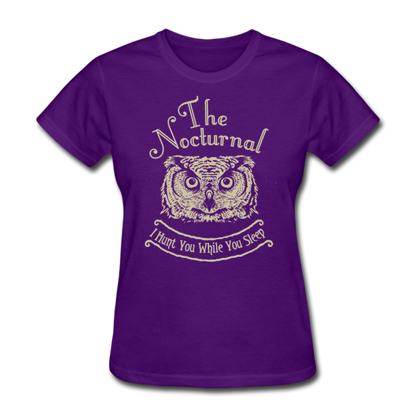 Nocturnal Owl - purple