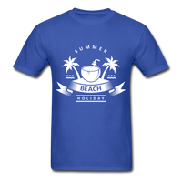 Summer Beach Holiday - Men's Tee - royal blue